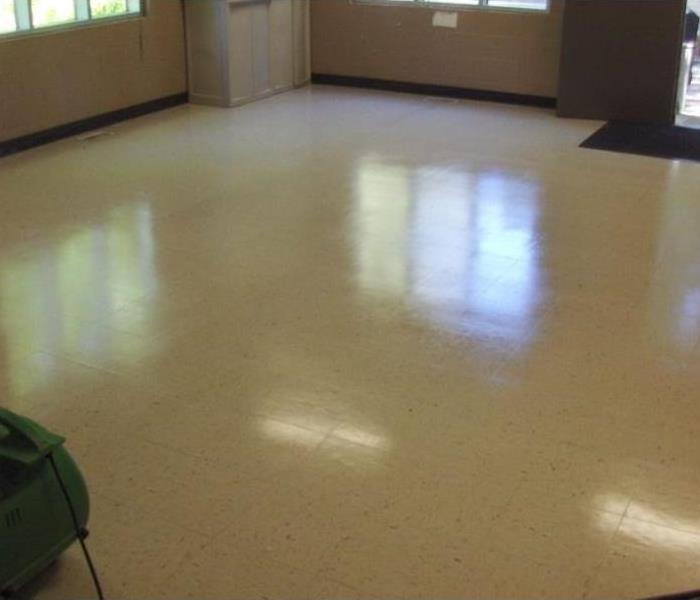 Floors in Commercial Building After