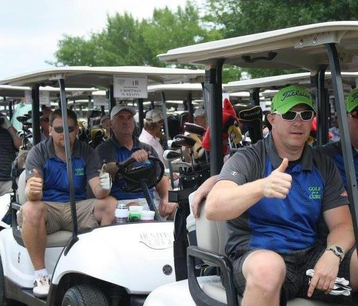 SERVPRO Golf for a Cure 2016